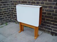 FREE DELIVERY Formica Gate leg Table Retro Vintage Furniture