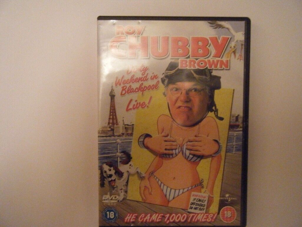 Roy Chubby Brown Dirty Weekend in Blackpool.Used in very good condition.