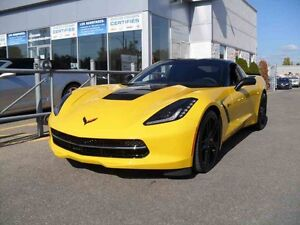 2015 Chevrolet CORVETTE STINGRAY COUPE Z51 2LT (2LT) CUIR/SUSPEN