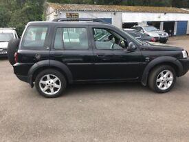 Land Rover freelander 80,000 miles,auto,2.5 petrol