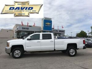 2016 Chevrolet SILVERADO 2500HD 1LT CREW 4WD LONG BOX, 6.6L DIES