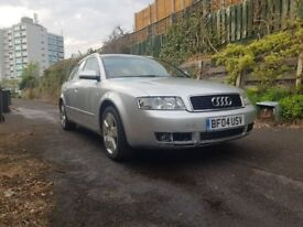 Audi A4 Automatic Silver 2004 NEW MOT, Fully renovated gearbox