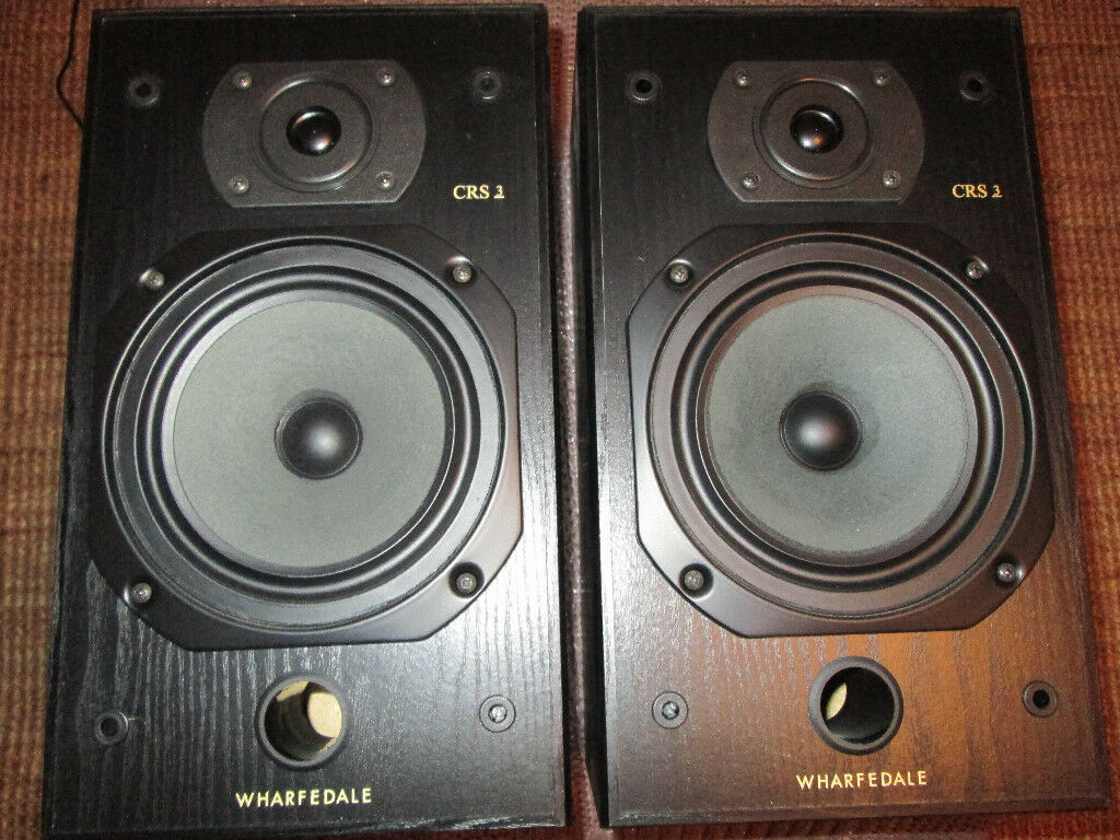 Wharfedale Crs3 Main Stereo Speakers Bookshelf Pair In Crewe Toll