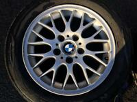"17""Inch BMW 3 Series Alloys and Tires. 2003 Model"