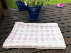 Baby change mat