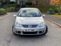2007(57)Volkswagen Golf 1.9 TDI Match Automatic DSG Full Service History, 12 Months MOT
