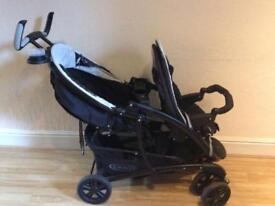 Twin Pushchair of Graco