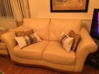 Natuzzi leather sofa / sofas x 2 Bargain £50