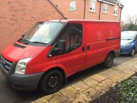 56plate Ford Transit (not Royal Mail)