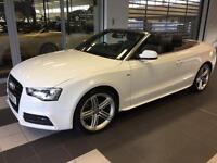Audi A5 Cabriolet - 2.0 TDI - S Line - Multitronic Automatic / Diesel - Top Spec!!