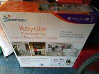 Royale converta 3 in 1 play pen /gate