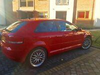 Red Audi A3 tdi sport