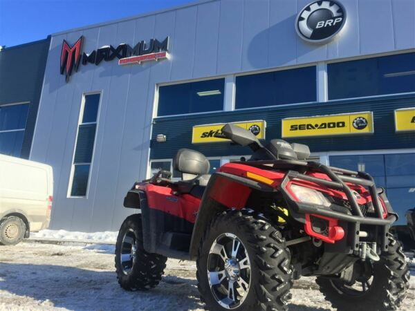Used 2009 Can-Am OUTLANDER MAX 800 XT