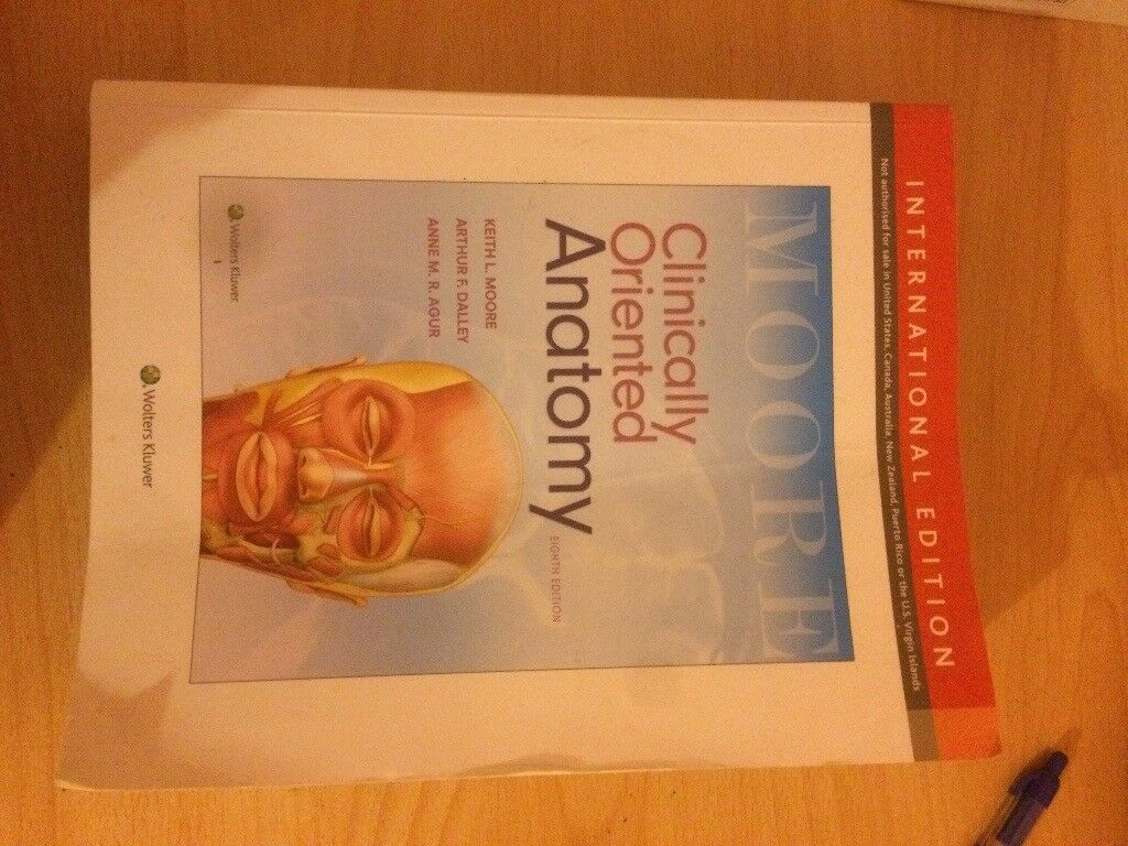 Moore clinically orientated anatomy medicine textbook | in Newcastle ...