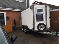Twin axel trailer