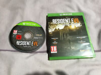 Resident evil 7 Biohazard for the XBOX One