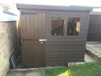 7'x5' pent shed in belper derbyshire