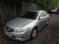 HONDA ACCORD EXECUTIVE I VTEC 2007 1998cc 4 DOOR PETROL 99,287 MILES M.O.T 28/04/19 NO ADVISORIES