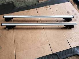 Roof Rack Bars Universal 1200mm to fit Roof rails Excellent condition