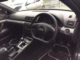 Audi A4 s4 b6 flat bottom steering wheel leather airbag 2001-2004