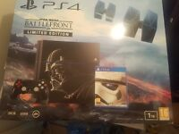 Star Wars Limited Edition PS4 console and extra's
