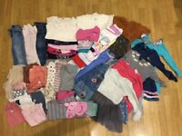 REDUCED Massive Girl (3-4 years) Clothes Bundle - Many brands