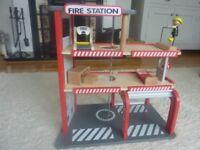 Hape Wooden Fire Station