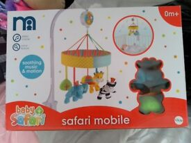 Baby Bouncer, Mat and Mobile