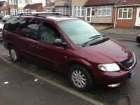 2001 Chrysler grand voyage TAX&MOTED £550 ono