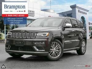 2017 Jeep Grand Cherokee SUMMIT 4X4 | EX CHRYSLER COMPANY DEMO |