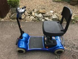 Sterling little Gem mobility boot scooter fitted with brand new heavy duty batteries.
