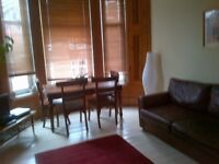 Spacous furnished two bedroom top floor traditional tenement in Crosshill area