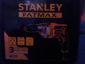 New Stanley Fatmax drill with cable