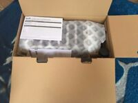 Brand New DUALIT 6 slice white and chrome TOASTER