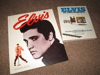 Collection Elvis Presley 2 Books Lot Biography Story Rock Music