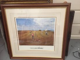 Turnberry 9th hole print 1/600