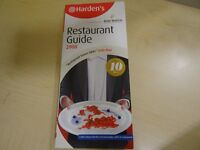 Restaurant Guide 2008 - Harden´s with Remy Martin – New