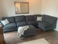 Large furniture village corner sofa