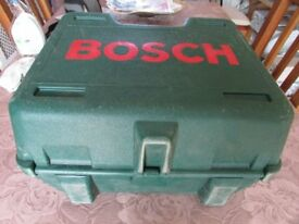 BOSCH CIRCULAR SAW WITH CHARGER.