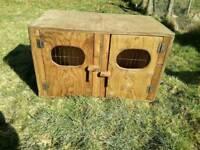Dog carrying box