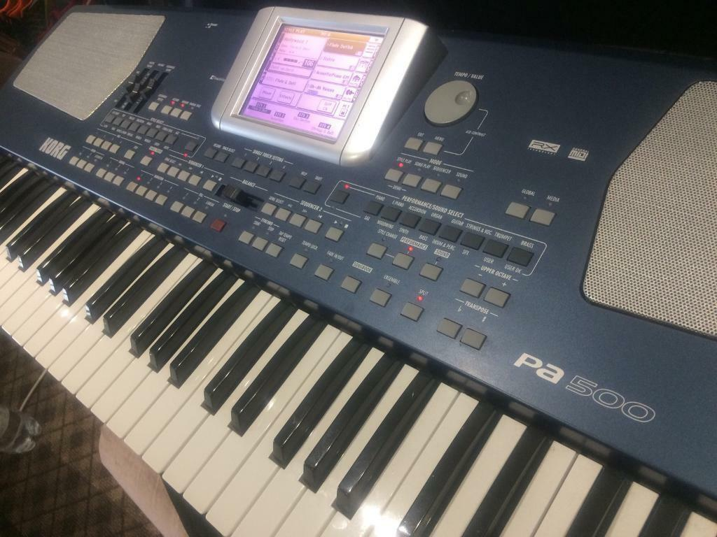 KORG Pa500 Hardly used  Excelent condition  | in Branston, Staffordshire |  Gumtree