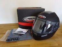 Caberg Ego Motorcycle Helmet, M 57-58, Matt Black
