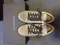 All saints male fur sneaker limited edition