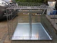 Dog cage for car boot or house