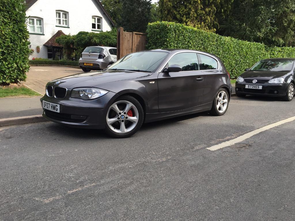2007 BMW 1 Series 118D SE Grey 3 Door