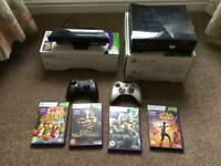 Xbox 360 250gb, Kinect and games