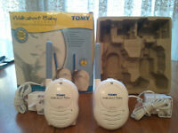 BABY MONITOR, TOMY, WALKABOUT BABY ADVANCE, THE COMPACT PORTABLE MONITOR, SILL BOXED