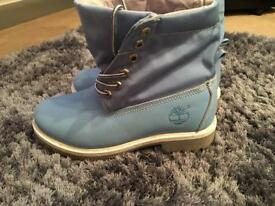 Timberland boots (roll top) size 5