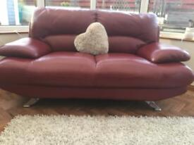 3/2 seater sofa with footstool