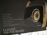 Vintage style radio